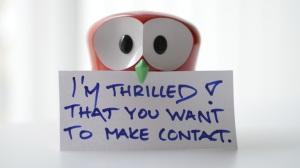Contact-me-owl